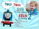 Thomas Photo Birthday Invitations Example Thomas the Train Birthday Invitations Design