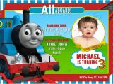 Thomas Photo Birthday Invitations Thomas the Train Personalized Birthday Party by Cutemoments