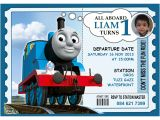 Thomas the Tank Engine Party Invitations 9 Train Birthday Invitations for Kid Free Printable