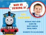 Thomas the Tank Engine Party Invitations Thomas the Tank Engine Birthday Invitations