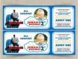 Thomas the Tank Engine Party Invitations Thomas the Train Customizable Printable Party Invitation