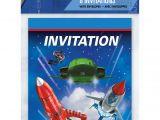 Thunderbirds Party Invites Thunderbirds Party Invitations & Envelopes 8pk