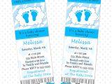 Ticket Invitations for Baby Shower 50 Invitation Tickets Baby Boy Shower Zebra Cheetah Blue