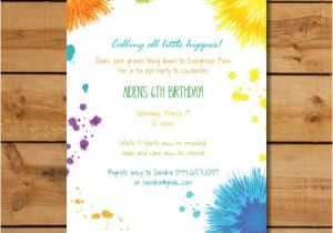 Tie Dye Baby Shower Invitations Hippie Birthday Party Invitations Tie Dye by Sugarhouseink