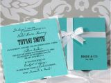 Tiffany and Co Bridal Shower Invitations 1000 Images About Quinceanera Invitation Ideas On