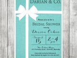 Tiffany and Co Bridal Shower Invitations Bridal Shower Invitation Tiffany & Co Inspired