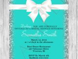 Tiffany and Co Bridal Shower Invitations Bridal Shower Invitation Tiffany and Pany Bridal Shower
