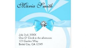 Tiffany Blue Wedding Bridal Shower Invitations Tiffany Blue Wedding Bridal Shower Invitations