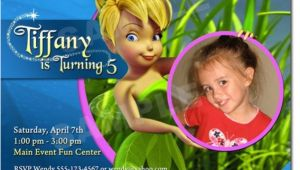 Tinkerbell Birthday Invitation Template Great Tinkerbell Birthday Invitation Ideas Party Xyz