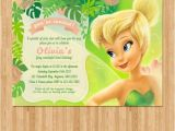 Tinkerbell Invitation Cards for Birthdays Tinkerbell Birthday Invitation Kate 7 Tinkerbell