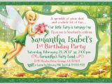 Tinkerbell Invitation Cards for Birthdays Tinkerbell Birthday Invitations Di 283 Custom