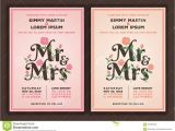 Titles for Wedding Invitations Mr and Mrs Title with Flower Wedding Invitations Template