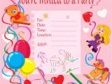 Toddler Birthday Party Invitations 20 Birthday Invitations Cards Sample Wording Printable