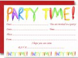 Toddler Birthday Party Invitations Kids Birthday Party Invitation Cards Card Design Ideas