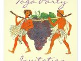 Toga Party Invitation Cluster Of Grapes togas toga Party Invitation 5 25
