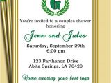 Toga Party Invitation Laurel Leaf Invitation Pick Colors Customized for Your