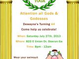 Toga Party Invitations Wording 286 Best Images About event Planning On Pinterest