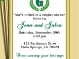 Toga Party Invitations Wording Laurel Leaf Invitation Pick Colors Customized for Your