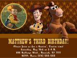 Toy Story Customized Birthday Invitations Custom Photo Invitations toy Story Birthday Invitation You
