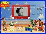 Toy Story Customized Birthday Invitations Custom toy Story Birthday Invitation Digital by
