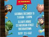 Toy Story Customized Birthday Invitations Custom toy Story Inspired Birthday Party Invitations Diy