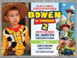 Toy Story Customized Birthday Invitations toy Story Invitation toy Story Invite Disney Pixar toy