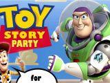 Toy Story Photo Birthday Party Invitations toy Story Birthday Invitations Templates Free