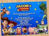 Toy Story Photo Birthday Party Invitations toy Story Invitation toy Story Invite Custom Personalized