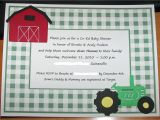 Tractor Baby Shower Invitations Tractor Baby Shower Invitations