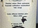 Traditional Bridal Shower Invitations Zulu Traditional Wedding Invitation Cards Google Search