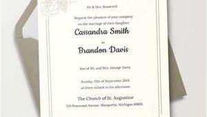 Traditional Wedding Invitation Template 35 Traditional Wedding Invitations Psd Free Premium