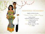 Traditional Wedding Invitations Designs Ghana Traditional Wedding Invitation Card