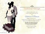 Traditional Wedding Invitations Designs Ratu sotho Traditional Wedding Invitation