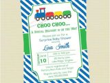 Train themed Baby Shower Invitations Train Baby Shower Invitations Train Invitations Train