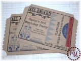 Train Tickets Birthday Invitations Train Ticket Birthday Invitations the Scrap Shoppe