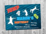 Trampoline Birthday Party Invitations Free 7 Best Images Of Trampoline Birthday Party Invitations