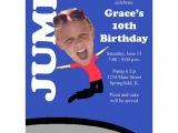 Trampoline Birthday Party Invitations Free 8 Best Images About Trampoline Party On Pinterest