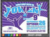 Trampoline Park Birthday Invitations Altitude Trampoline Park Trampoline Party Invitation Bounce