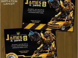Transformer Birthday Invitations Printable Free Transformer Invitation Free