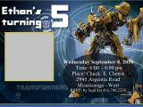 Transformer Birthday Invitations Templates Transformers Birthday Party Invitations Template Mickey