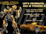 Transformer Birthday Invitations Templates Transformers Invitation Template