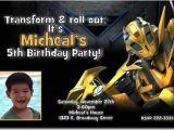 Transformer Party Invitations Transformers Bumblebee Birthday Invitations Download Jpg