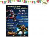 Transformer Party Invites Transformers Invitation Transformer Birthday by Hdinvitations