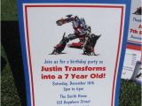 Transformers Birthday Party Invitation Wording Ideas Transformers Birthday Invitation Favor Tag Water Candy