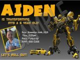 Transformers Birthday Party Invitation Wording Ideas Transformers Birthday Invitations Template