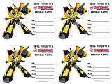 Transformers Party Invitations Free Printable Transformers Birthday Invitations Free Printable