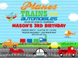 Transportation Birthday Party Invitations Transportation Birthday Invitation Dimple Prints Shop
