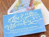 Travel themed Party Invitations Margotmadison Travel themed Wedding Invitation
