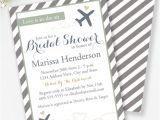 Travel themed Wedding Shower Invitations Travel Bridal Shower Invitation Travel theme Shower