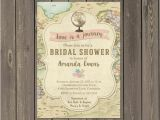 Travel themed Wedding Shower Invitations Travel Bridal Shower Invitations Decor Ideas Mid south
